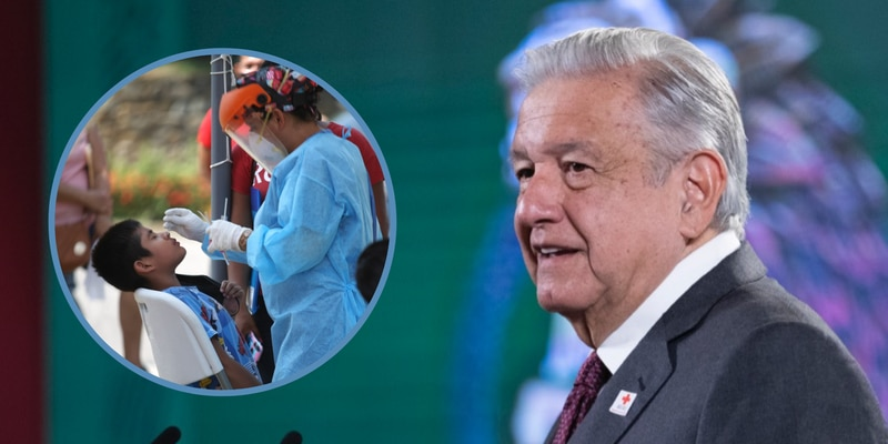 López Obrador señaló que en ningún país del mundo se tienen informes que demuestren la necesidad de vacunar niños
