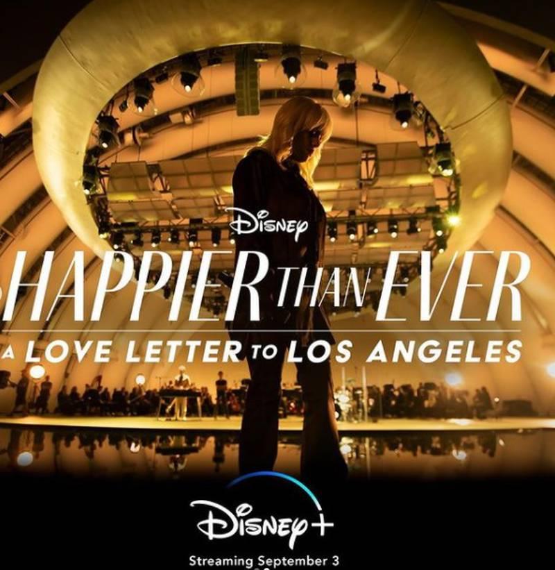 Concierto streaming de Billie Eilish 'Happier Than Ever: A Love Letter To Los Ángeles'